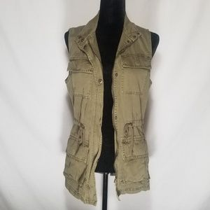 Cotton On Green Jacket Vest